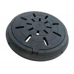Дождеприемник полимерпищаный круглый средни В125