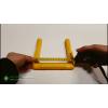 Скоба ходовая (узкая) EN 13101: покрытая высокопрочным пластиком