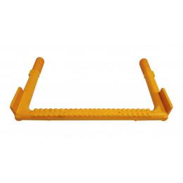 Скоба ходовая (широкая) EN 13101: покрытая высокопрочным пластиком