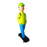 Стилизованная скульптура «Мальчик-пешеход»