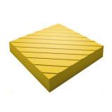"""Тактильна плитка бетонна """"Поворотна"""" 300х300х60"""