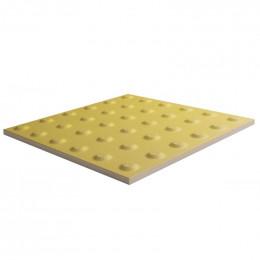 Тактильная плитка керамогранитная Импекс-груп Конус  300х300х10