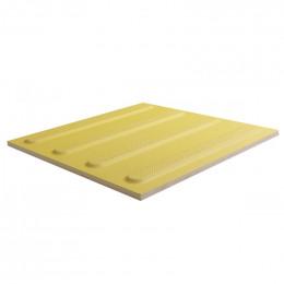 Тактильная плитка керамогранитная Импекс-груп Полоса 300х300х10