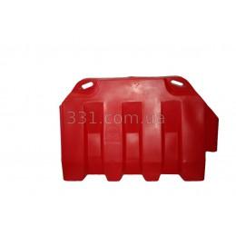 Блок дорожный водоналивной 1200 х 800 х 480 мм