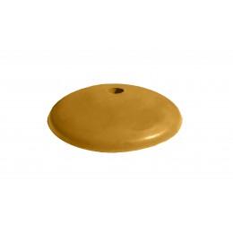 Полицейский лежачий  Імпекс-груп полимерпещанный круглый желтый 03542 П