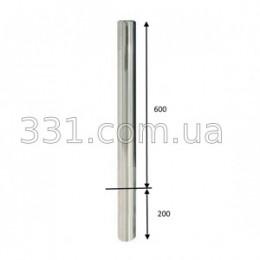 Столбик парковочный Д60мм, Н600 мм из нержавеющий стали (под бетон)