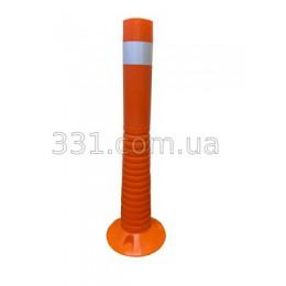 Столбик сигнальний пластиковый Н-670мм