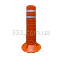 Столбик сигнальний пластиковый Н-400мм