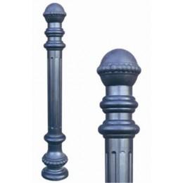 Тротуарный столбик в полимерном кожухе