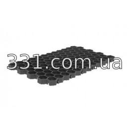 Газонная решетка РГ-70.40.3,2 пластиковая чёрная
