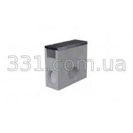 Комплект: пескоуловитель Super  ПУ-15.25.60 бетонный с чугунной решеткой, кл. Е