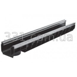 Лоток водоотводный ЛВ-10.14,5.10-пластиковый усиленный