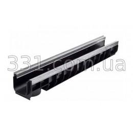 Лоток водоотводный ЛВ-10.16.13,5-пластиковый усиленный