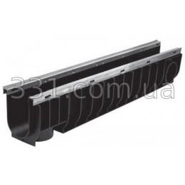 Лоток водоотводный ЛВ-10.16.18,5- пластиковый усиленный