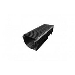 Лоток водоотводный пластиковый Super ЛВ-30.38.39,6, кл.Е600