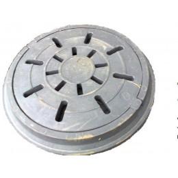 Дождеприемник Импекс-груп полимерпищаный круглый средний В125 4.06 П