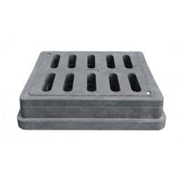 Дождеприёмник пластиковый  Импекс-груп  400х450 с замком В125 03538 П