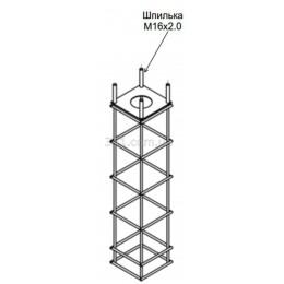 Фундамент / закладная  под опору освещения H1000