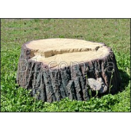 """Декоративная крышка для канализационных люков """"Пень с неровным срезом"""""""