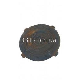 Крышка чугуного люка канализационного d-620, h-35 (МЛ)