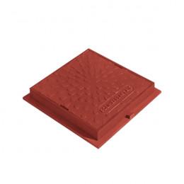 Люк ревизионно- смотровой квадратный красный, сиреневый
