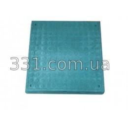 Люк полимерпещанный квадратный 640х640 А15  (зеленый)