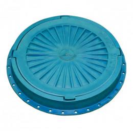 Люк пластмассовый легкий №3 (синий/голубой)