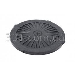 Крышка люка  пластмасового легкого №1  (чёрная)