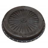 Люк Импекс-груп  пластмассовый легкий черный А 15 13.06 П