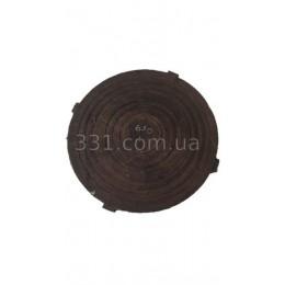 Крышка легкого люка  полимерпещана  Д-630 А15 (чёрная)