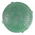 Крышка люка  пластмасового легкого №3  (зелёная)