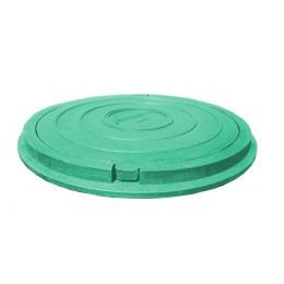 Люк Импекс-груп А 15 1,5 т садовый полимерпесчаный  зелёный 03093 П