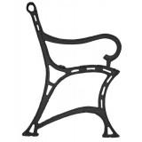 Ножка скамейки Королевская
