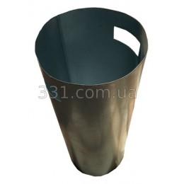 Ведро оценкованое для бетоной урны (К-18) , круглое